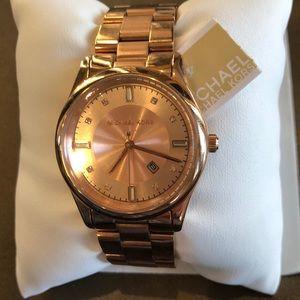 Michael Kors rose gold watch  never worn